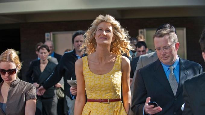 """""""Enlightened"""" (USA 2011-2013, HBO) Die Serie thematisiert den Umweltschutz und die einstellungsgetreuen Handlungen der Hauptprotagonistin als bislang wenige ihrer Art im zentralen und episodenübergreifenden Handlungsstrang"""