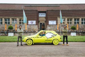Ausstellungsansicht Planet B: Quatschmobil, Atelier fuer Sonderaufgaben mit Alain Bieber / NRW-Forum Duesseldorf, Foto B. Babic